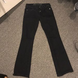 Madewell black flare jeans